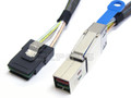 Mini SAS HD to Internal Mini SAS 0.5 Meter Cable