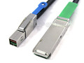 Mini SAS HD to QSFP+ 0.5 Meter Cable