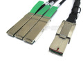 CXP to 3 QSFP+ 0.5 Meter Breakout Cable