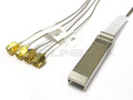 0.3 Meter SFP+ to (4) SMA RF Coax Cable