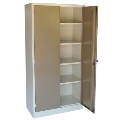 2 door steel stationery cabinet with additional options for Additional shelves for kitchen cabinets