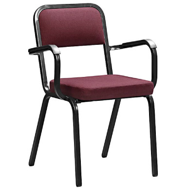 Rickstacker upholstered training chair with armrests for Furniture upholstery course