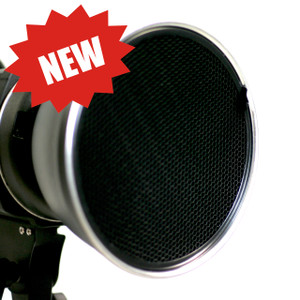 Bowens S type Reflector with 4 Honeycomb Grids
