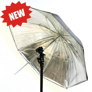 83cm Silver reflective Umbrella