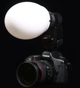 Speedlite, Canon, Nikon, accessories, diffusion globe, diffusor, globe, speedlite accesories, speedlight accessories, hot shoe flash, hot shoe flash accessories, flash photography