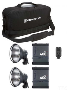 Elinchrom ELB 400 Hi-Sync Twin To Go Set
