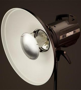 42cm White Softlite Reflector/Beauty Dish with interchangeable adapter