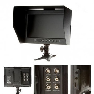 F&V DOF F1 7 Inch HDMI LCD On Camera Monitor With Sun Shade For Canon Nikon Sony Panasonic DSLR Cameras