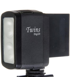 TwinsDigi DC Video Light 20v with 6000amp Batt