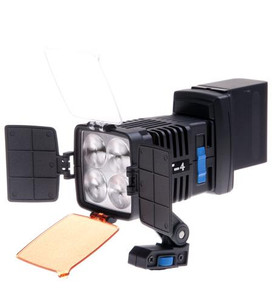 T-4 On Camera LED Lite 160watts Sony NP battery