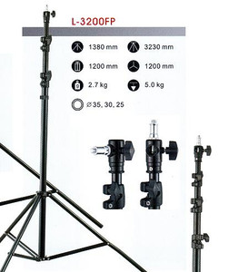 Studio and lighting support standas brackets spigots clamps and ball heads