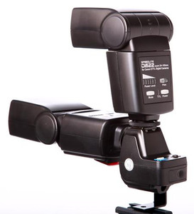16 Channel Twin Hotshoe Mount Radio Wireless Trigger On Camera Flash (Receiver Only)