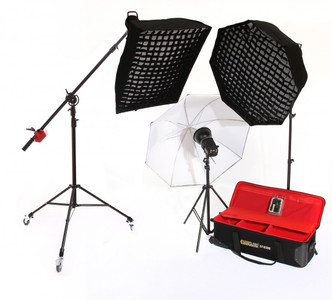 Coreflash Kit 5 CF-D300 3HEAD STUDIO KIT with Bowens S-fit