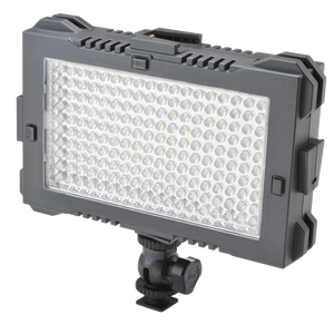 LED lite panels lighting on camera light continious