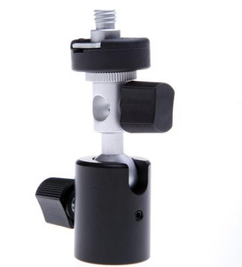 Speedlite Hot Shoe Mount Bracket with Tripod thread Mount