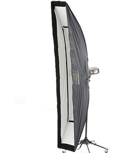 Strip lite 20x180cm Deep Recessed Soft box with  3 Diffusers