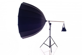 220cm Parabolic Umbrella for studio lights white inner