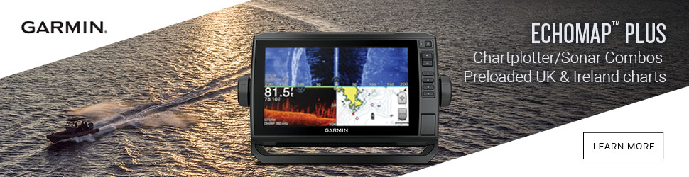Garmin chomp plus gps fishfinder banner