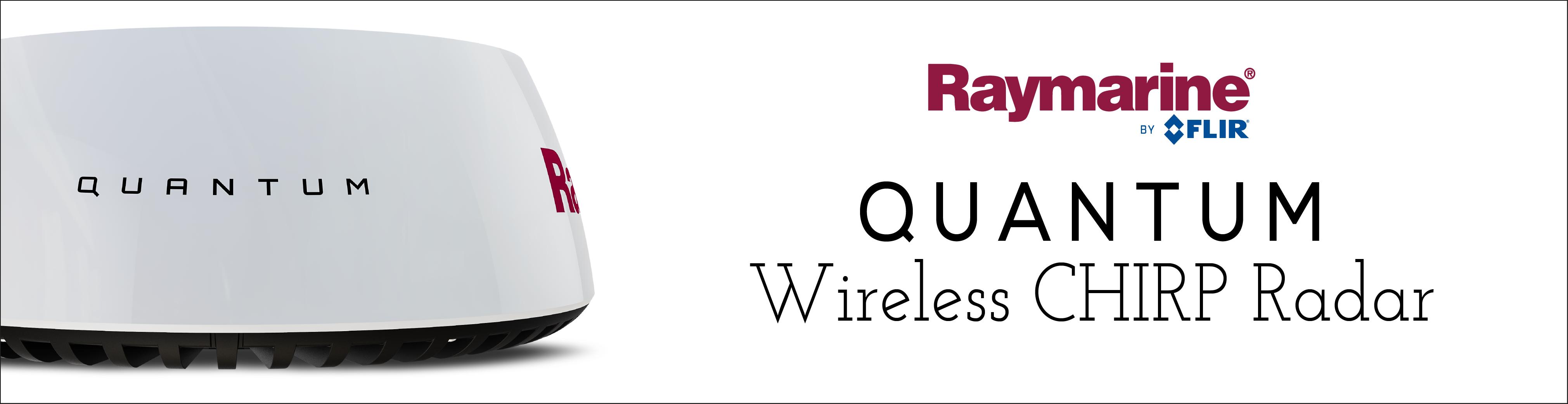 raymarine quantum wireless chirp radar marine electronics