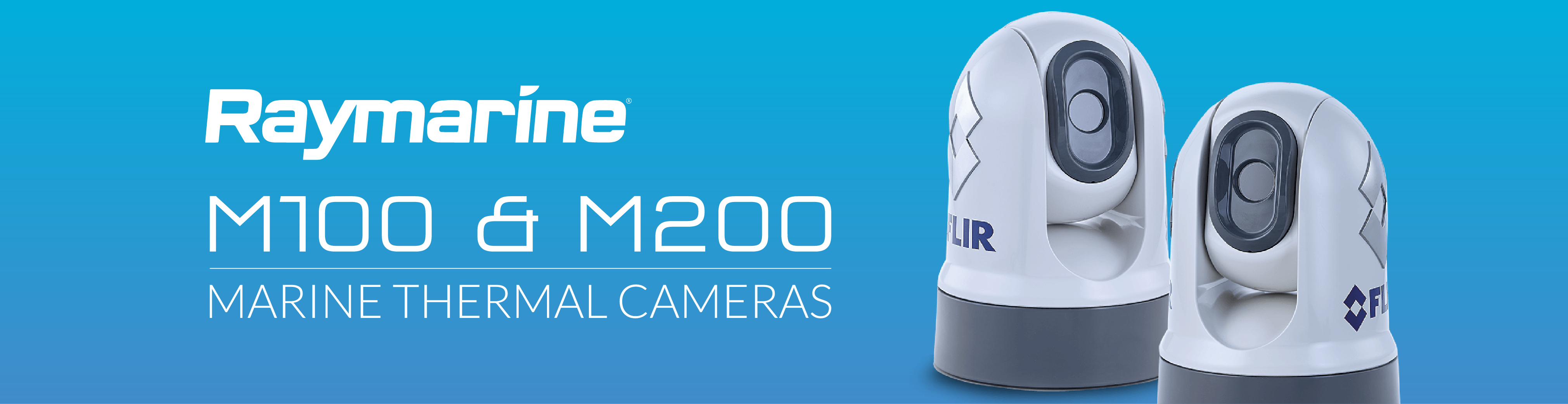 ray marine thermal cameras m100 m200 banner
