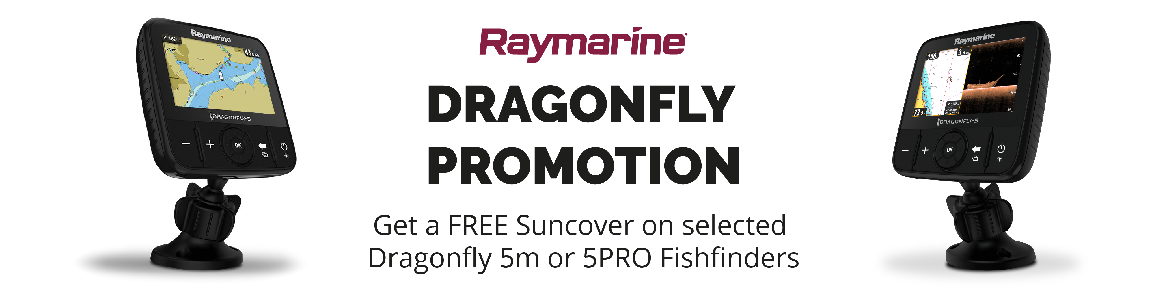 Rowlands Raymarine Dragonfly Promotion Banner