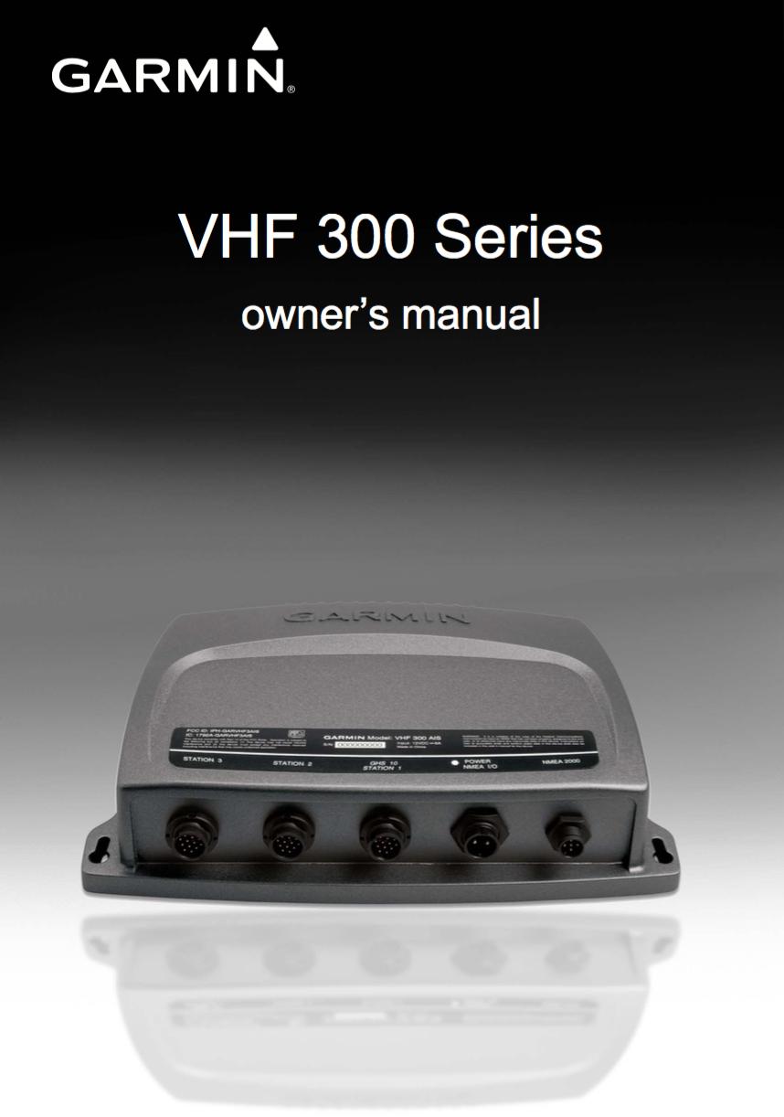 300 vhf owners manual