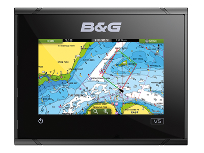 b and g vulcan 5 multifunction display front view