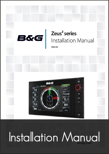 b and g zeus2 mfd installation manual
