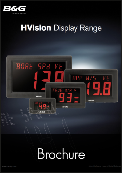 b g hvision display range instrument brochure