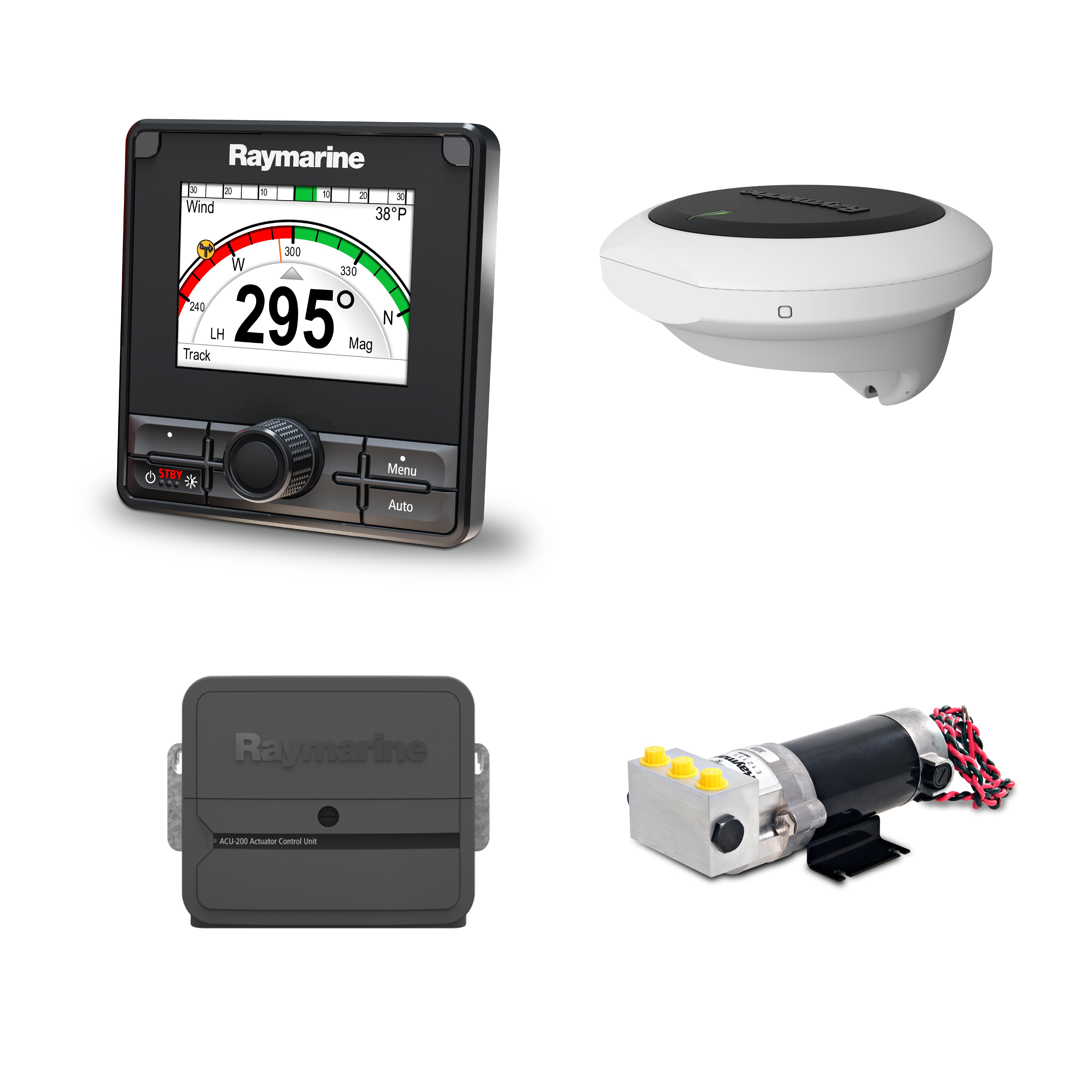 evolution autopilot p70rs control head hydraulic pump
