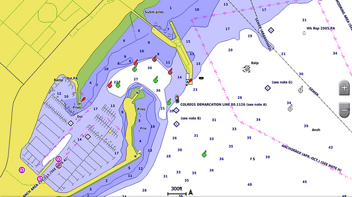 garmin bluechart g2 hd detailed harbor info
