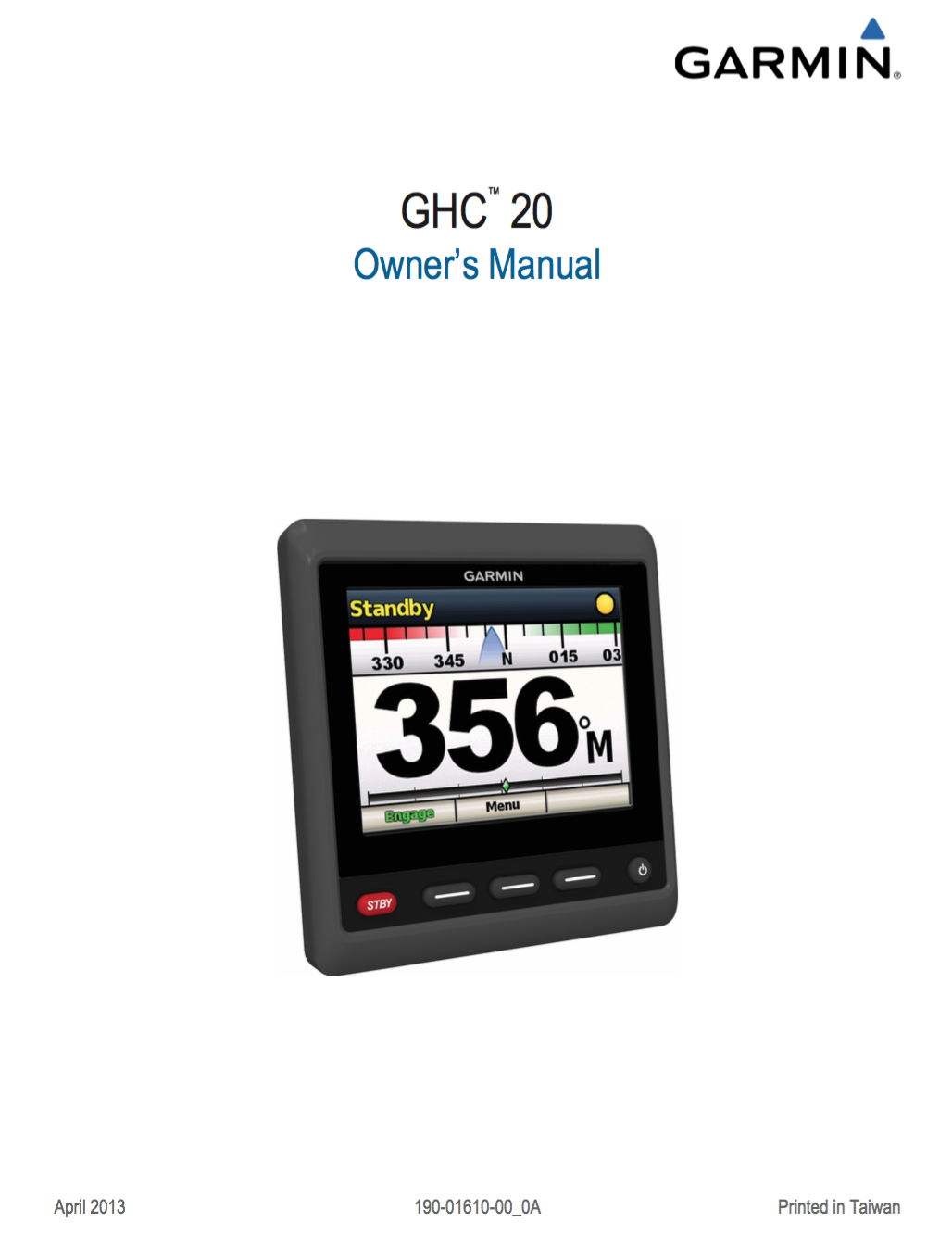 ghc 20 autopilot owners manual