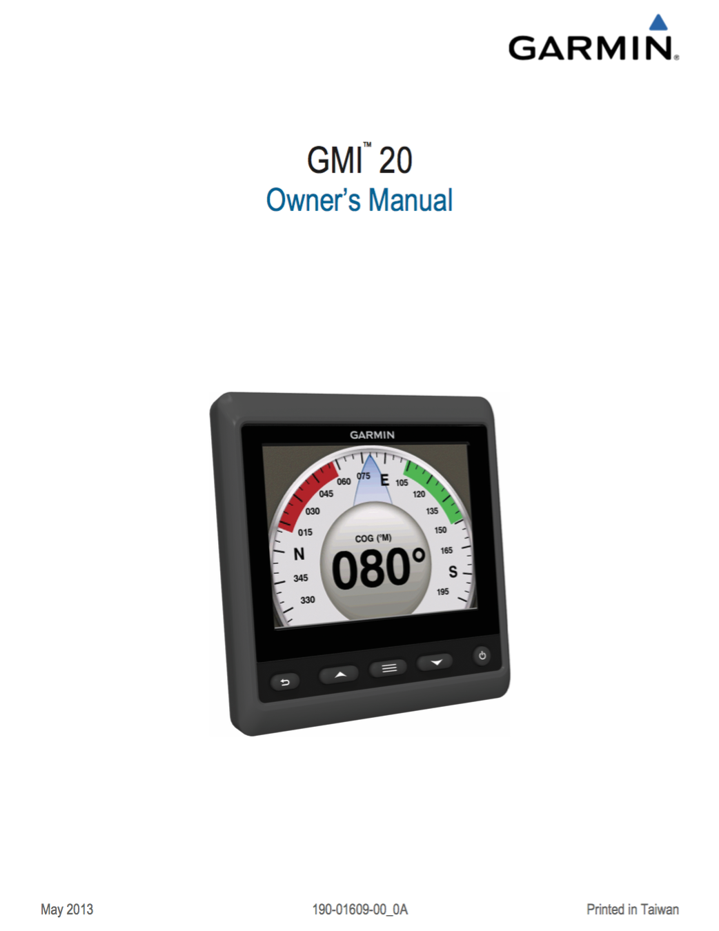 gmi 20 instrument owners manual
