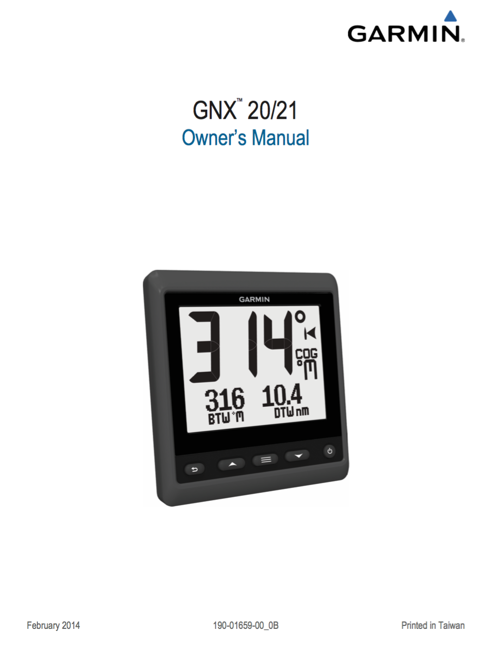 gnx 20 21 owners manual