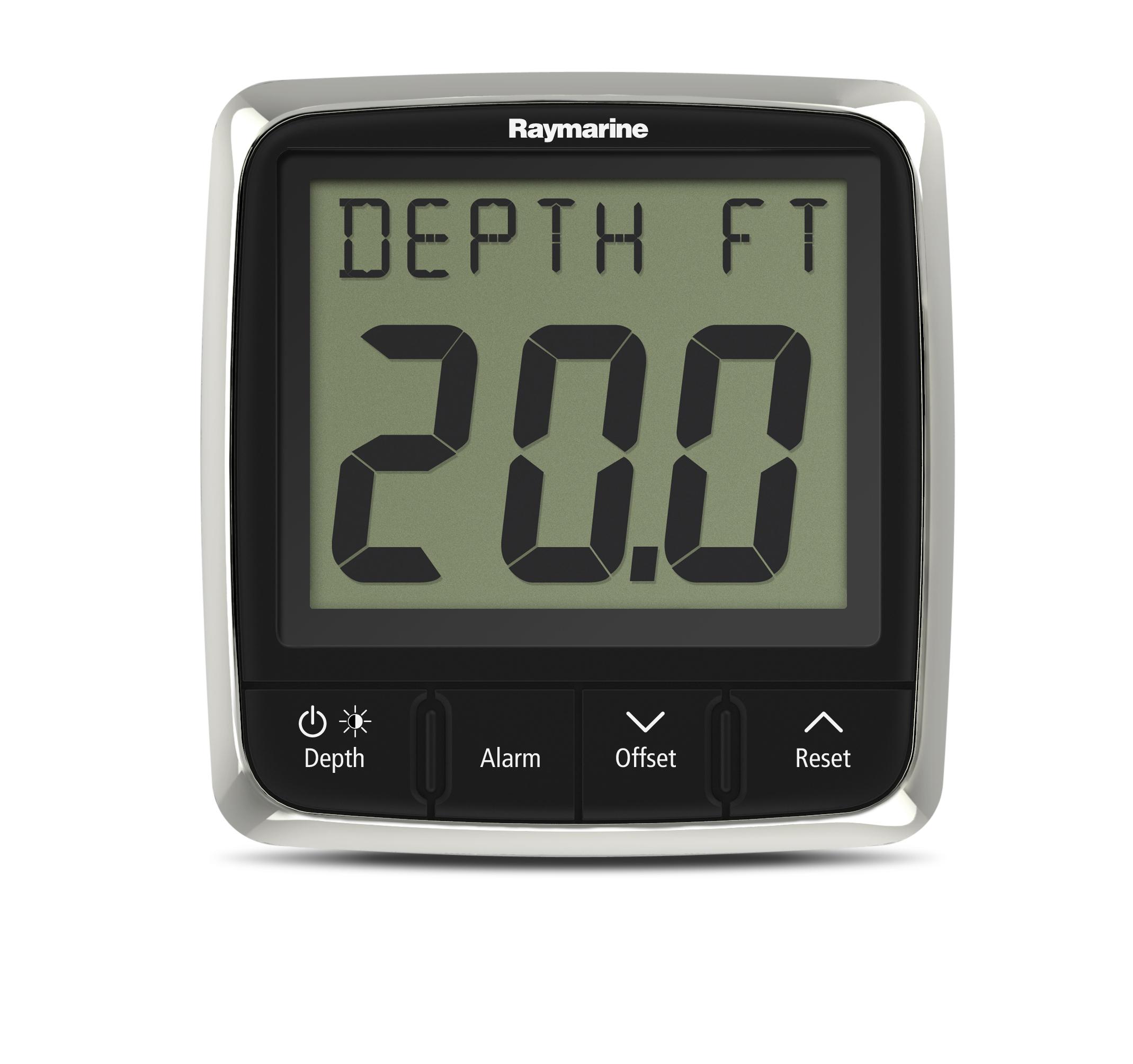 i50 depth front instrument display