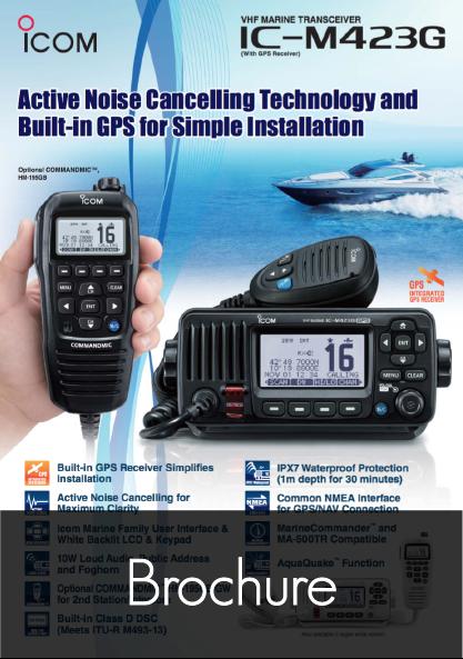 ic m423g product leaflet