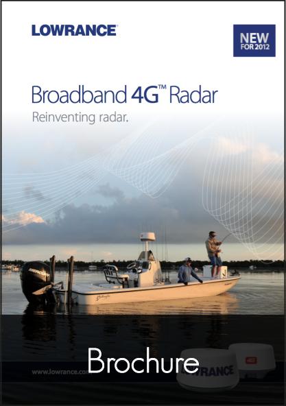 lowrance broadband radar 4g brochure