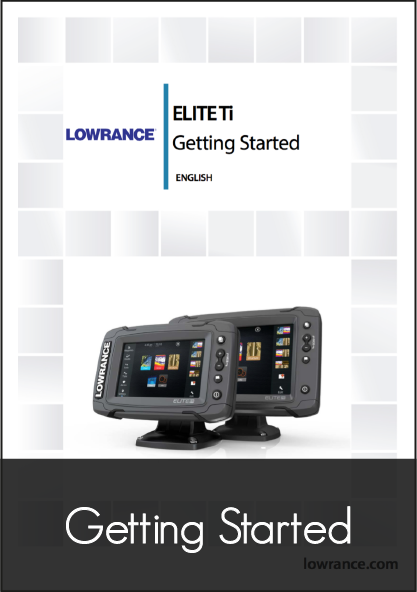 lowrance elite 7 ti getting started