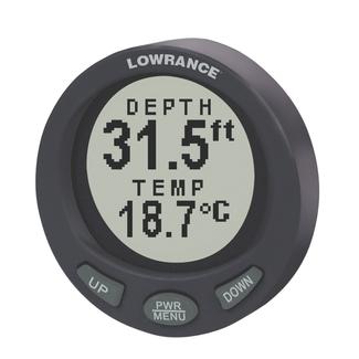 lowrance lst 3800 depth temp 2 inch gauge