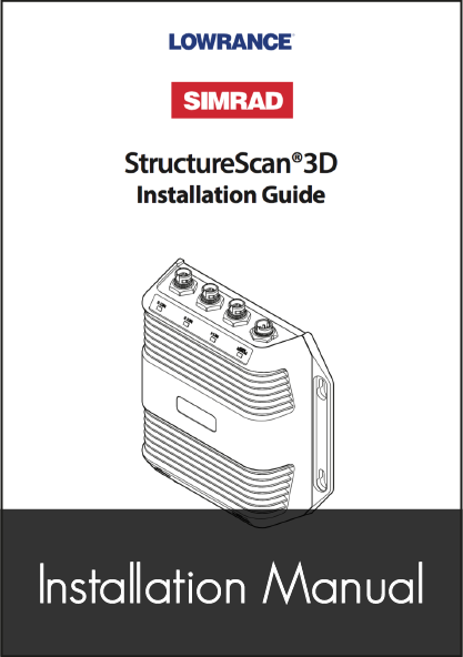 lowrance structure scan 3d sonar module installation guide