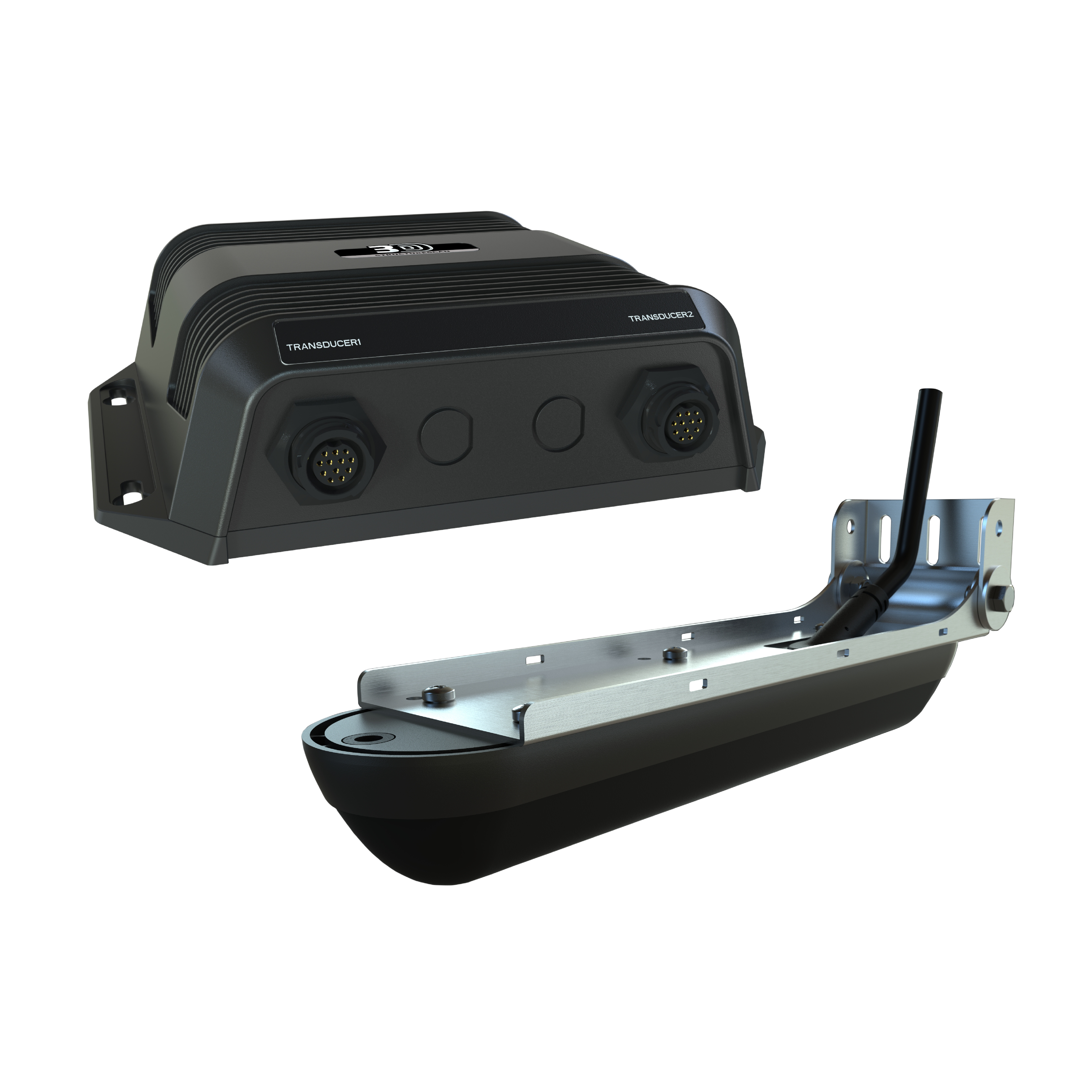 lowrance structure scan 3d sonar module transducer