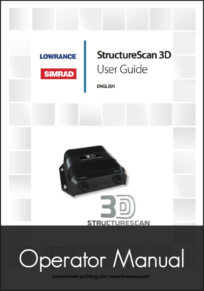 lowrance structure scan 3d sonar module user guide