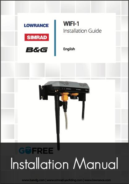 navico go free wifi 1 module installation guide