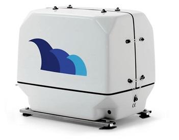 paguro 6500 marine generators angled view