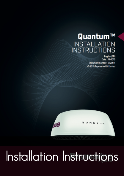 quantum wireless radar installation instructions