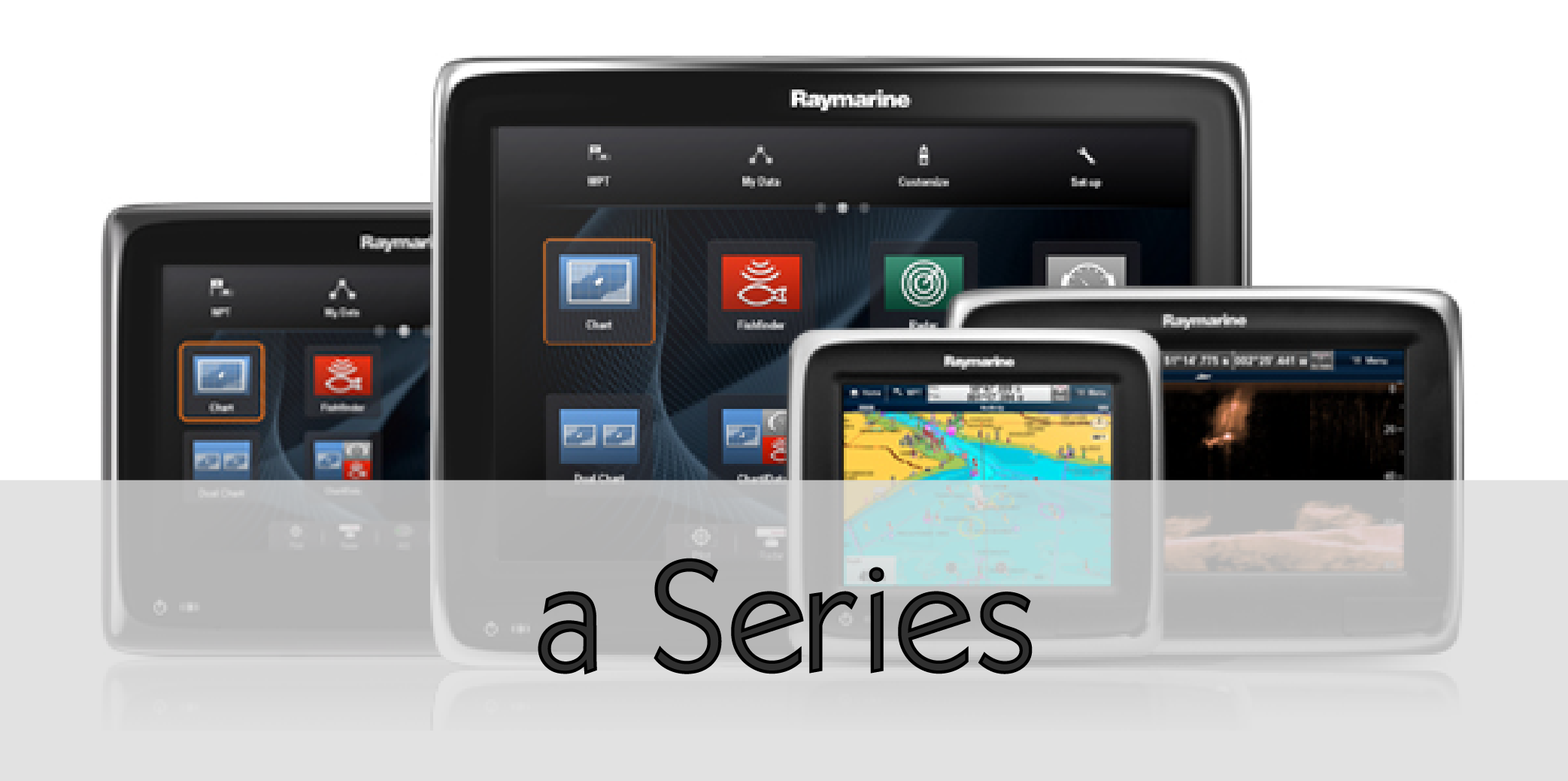 raymarine a series mfd group link