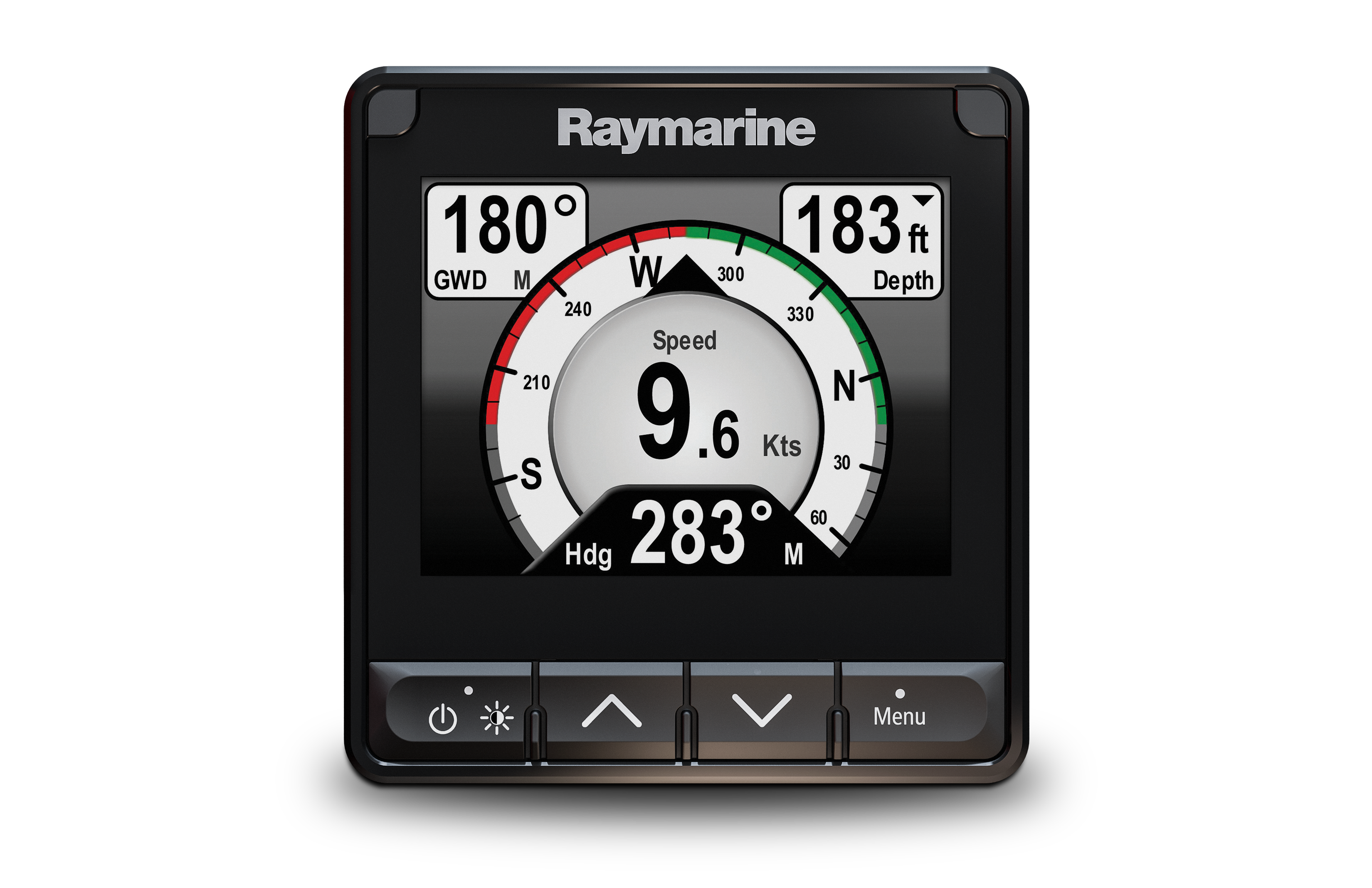 raymarine i70s hero multifunction display front view