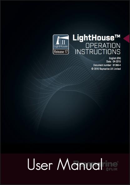 raymarine lighthouse 17 multifunction display user manual