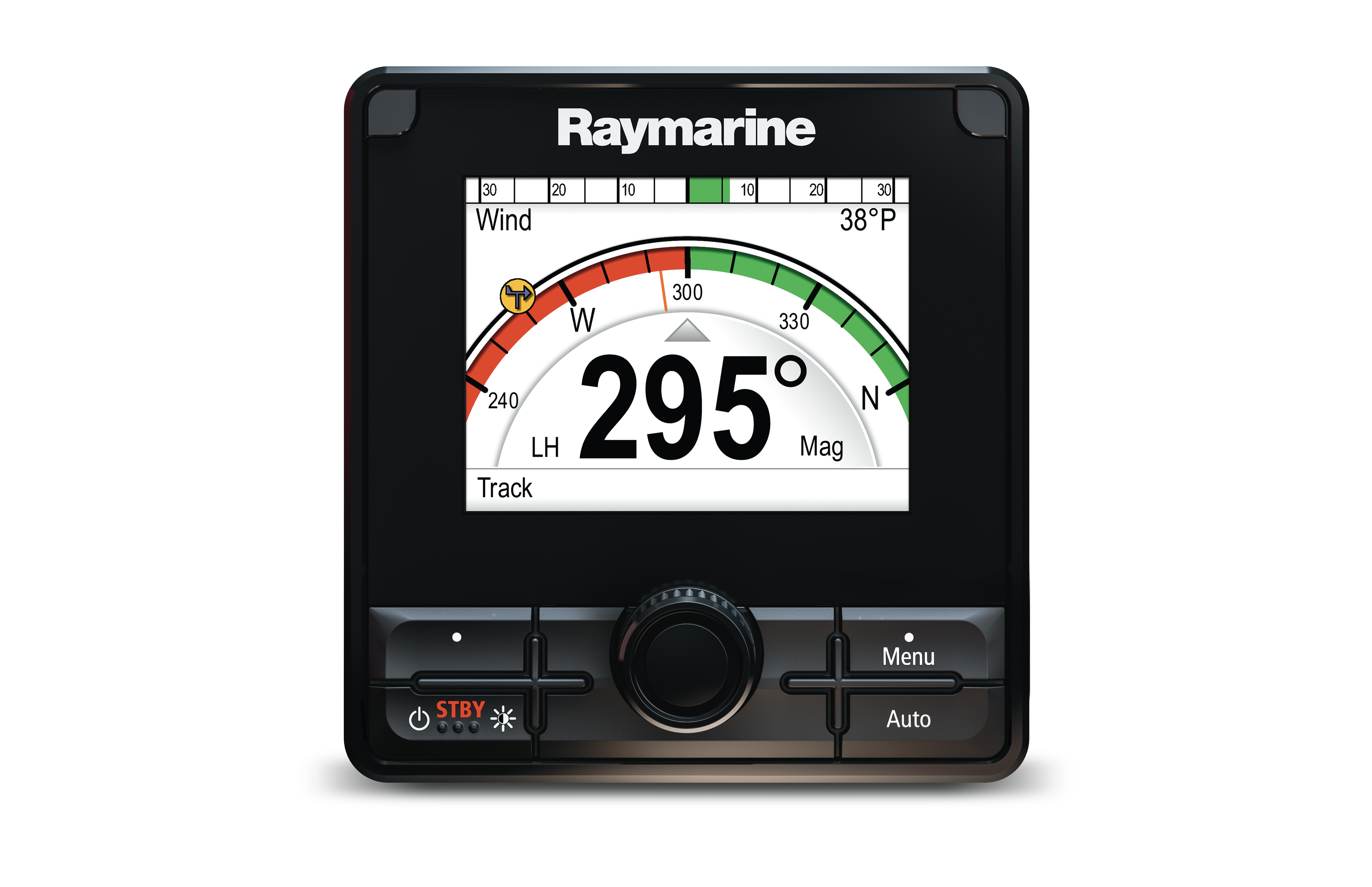 raymarine p70rs autopilot control heads front view