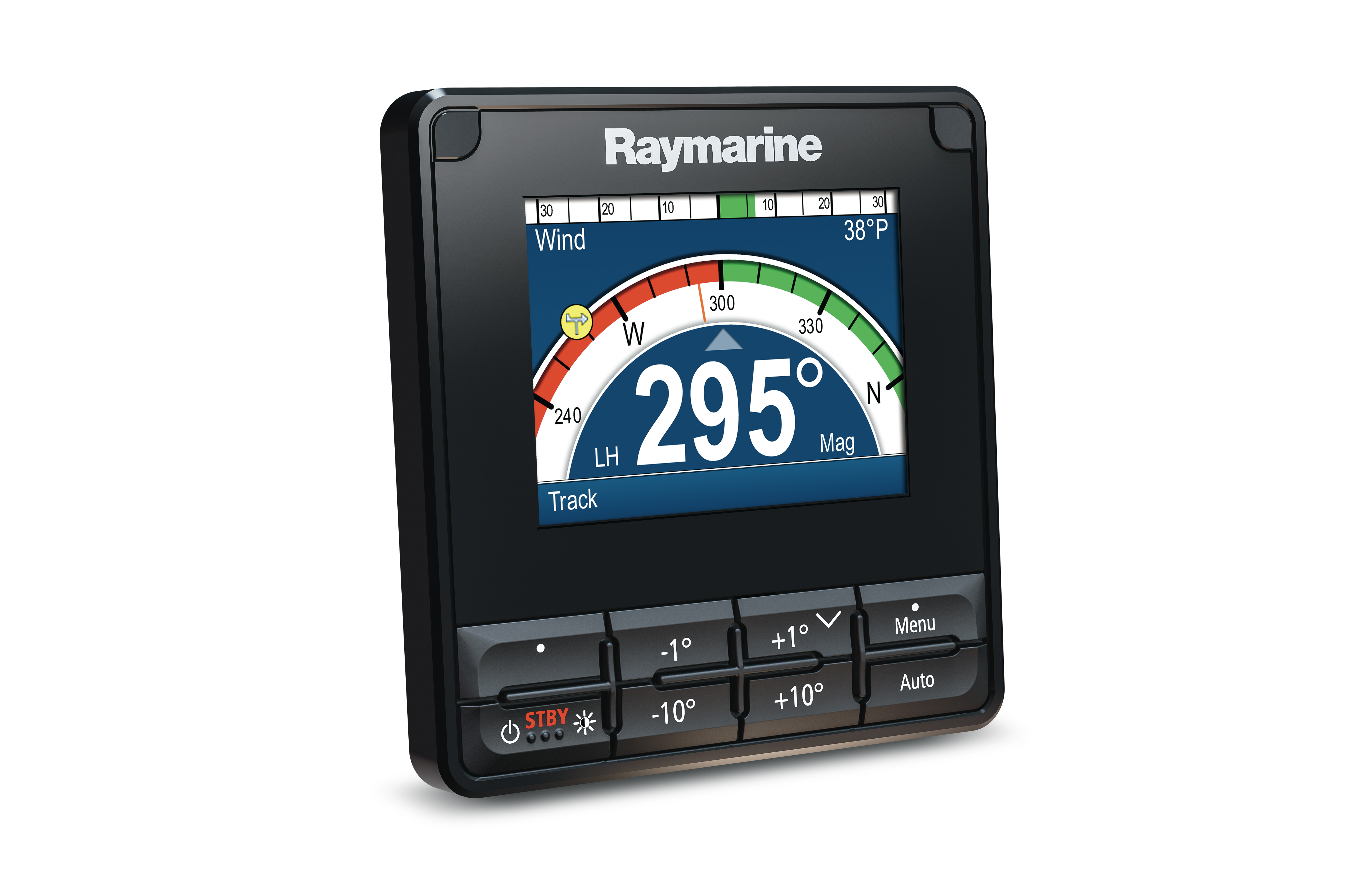 raymarine p70s autopilot control heads left view